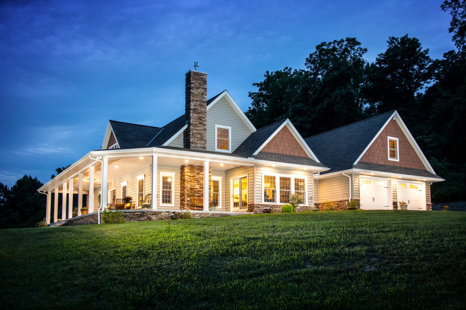 Custom home built in Wernersville, Berks County PA