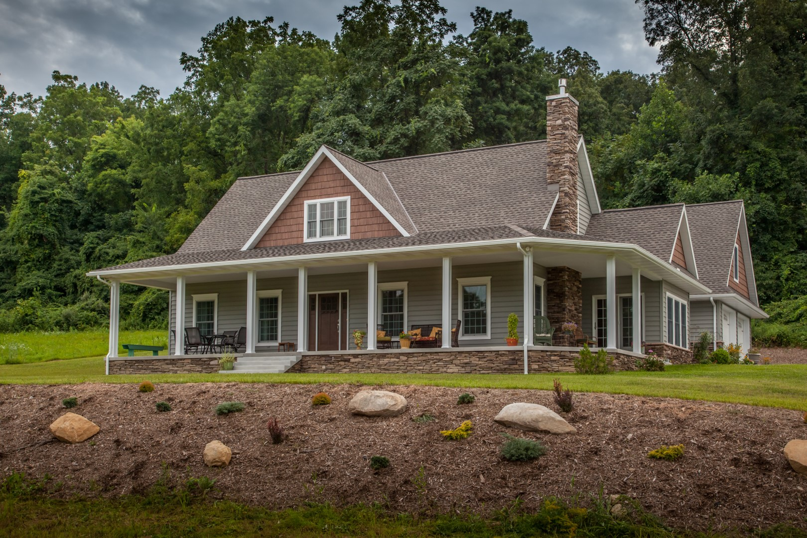 Dauphin county custom home builder earl weaver contractors for Home builders in central pa
