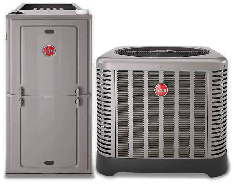 Rheem Gas Furnace/AC-Unit